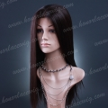 HR-HS1 20 inches synthetic hair silky straight lace front wig