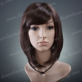 HR-S2  14 inches silk straigh synthetic wig