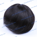 HT8-6ST#1B 6 inchesChinese remy hair Swiss lace Men's toupee