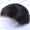 HT9-6ST#1B 6 inches Chinese and Indian hair pompadour Men's toupee