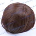 HT14-8ST#5 Chinese remy hair 8 inches free style Men's toupee