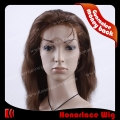 F707-16NW#4  16 inches natural wave brown  full lace wig