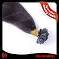 HX40-20#1BSST  20 inches natural black silk straight hair extension