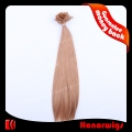 HX4-14#9SST 14 Inches Short Silk Straight Human Remy Hair Weaving Extension