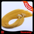 HX1-22#144SST 22 Inches 144 Golden Blond Silky Straight Chinese Human Remy Hair Extensions