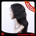 F724-18NW#NB  18 inches natural wave natural black full lace wig