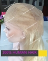 100% Chinese Virgin human hair wig